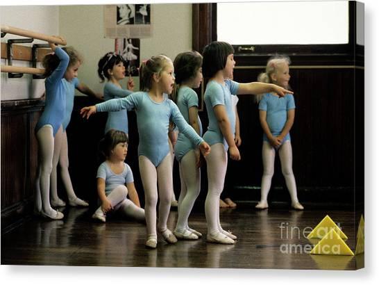 Young Ballet Dancers  Canvas Print
