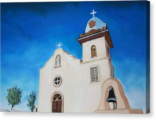Ysleta Mission Canvas Print