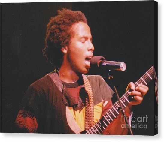 Ziggy Marley Canvas Print by Mia Alexander