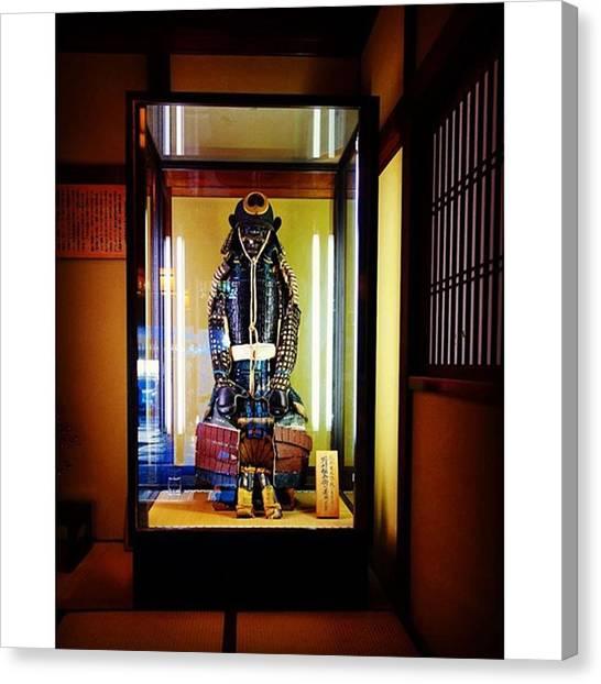 Samurai Canvas Print - 武家屋敷 by MST Photography