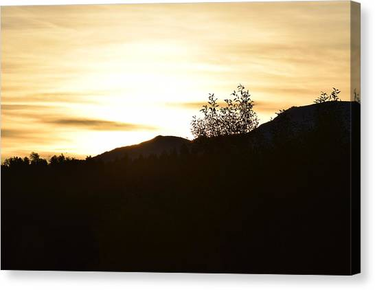 Sunrise Back Country Co Canvas Print