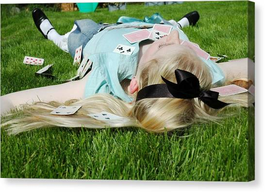 Dove Canvas Print - Cosplay by Jackie Russo