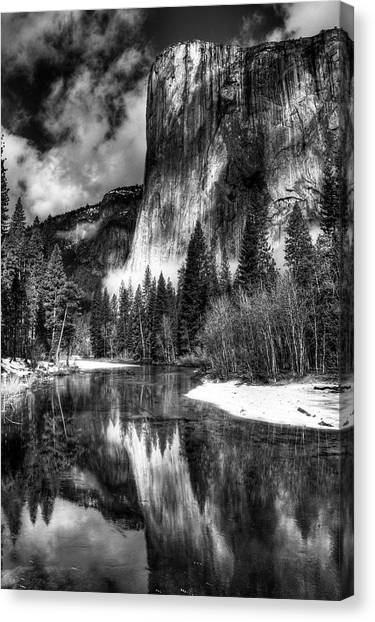 El Capitan Canvas Print by Marc Bittan