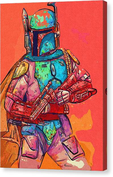 C-3po Canvas Print - New Star Wars Art by Larry Jones