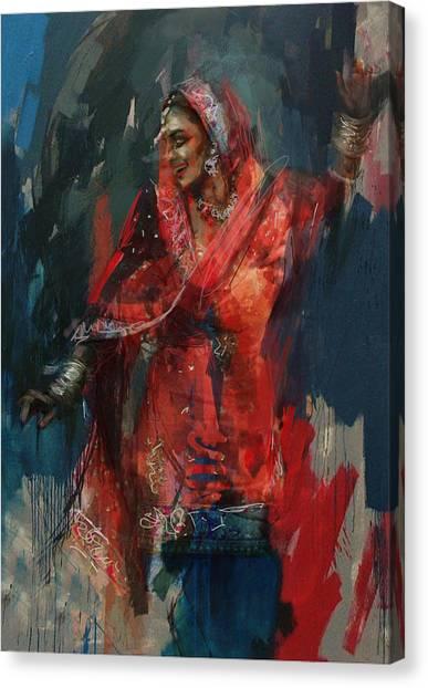 Submission Canvas Print - 10 Pakistan Folk Punjab B by Maryam Mughal
