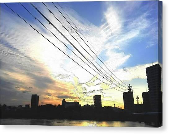 Canvas Print - Sunset by Kumiko Izumi