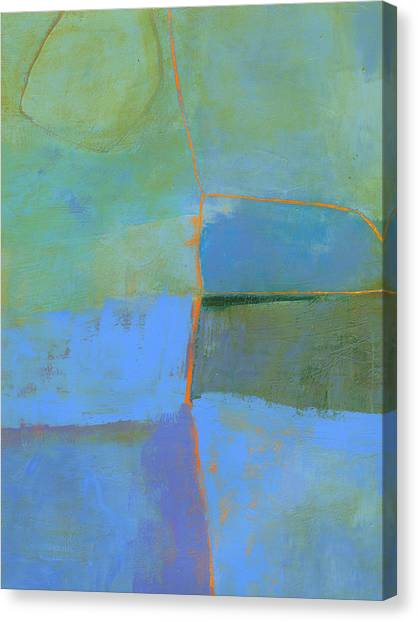 Abstract Canvas Print - 100/100 by Jane Davies