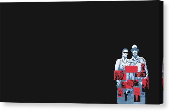Golfers Canvas Print - 100 Bullets by Super Lovely