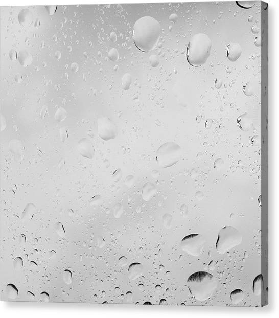 Raindrops Canvas Print - 100 Things To Do While Waiting For Your by Erin Cadigan