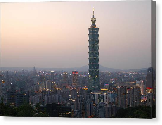 101 Tower Canvas Print