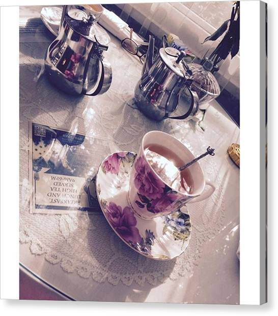Tea Pot Canvas Print - Instagram Photo by Taylor Addison