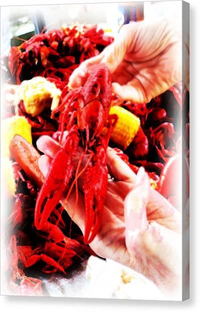 102715 Louisiana Lobster Canvas Print