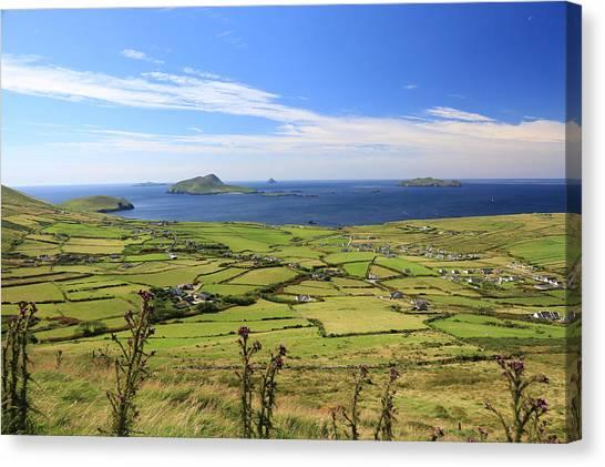 Atlantic Division Canvas Print - Landscape by Michael Diggin