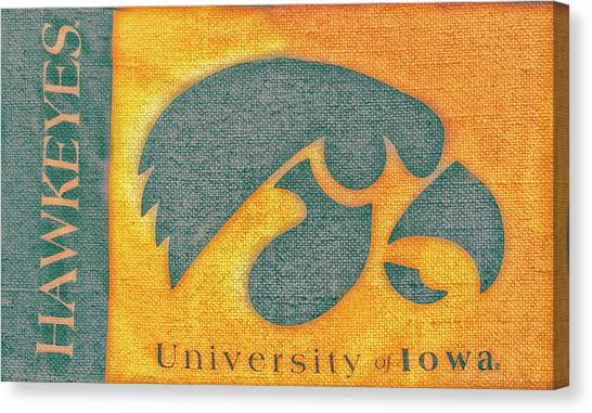 10720  Iowa Hawkeye Canvas Print
