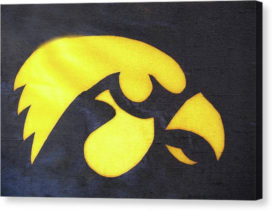 10724  Iowa Hawkeye Canvas Print