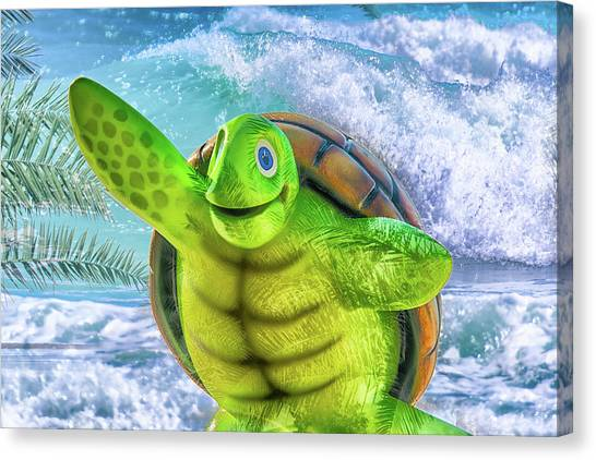 10731 Myrtle The Turtle Canvas Print