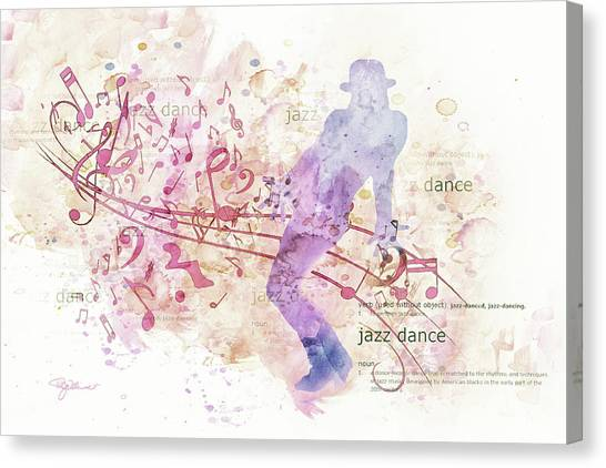 10849 All That Jazz Canvas Print