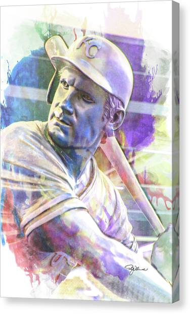 10929 George Brett Canvas Print