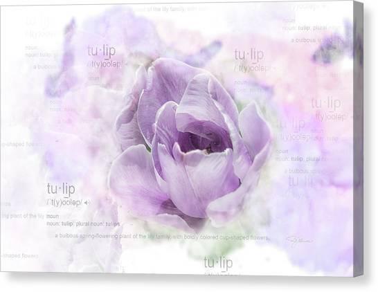 10947 Tulip Canvas Print