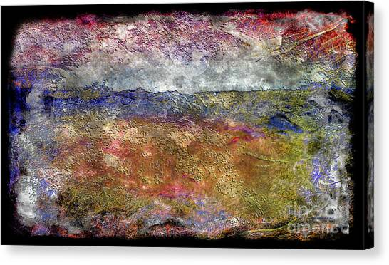10c Abstract Expressionism Digital Painting Canvas Print