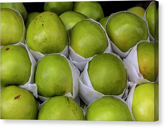 Apples Canvas Print by Robert Ullmann
