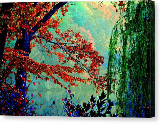 Autumn Colors Canvas Print by Aron Chervin
