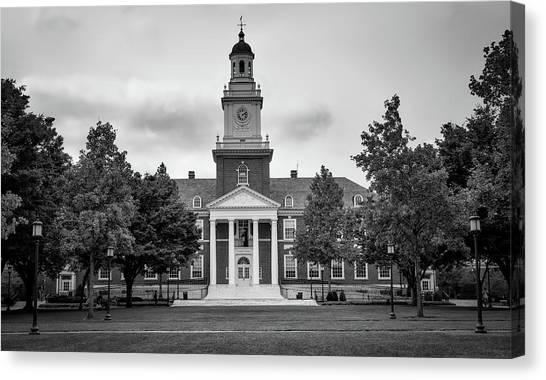 Johns Hopkins University Canvas Print - Gilman Hall - Johns Hopkins University by Mountain Dreams