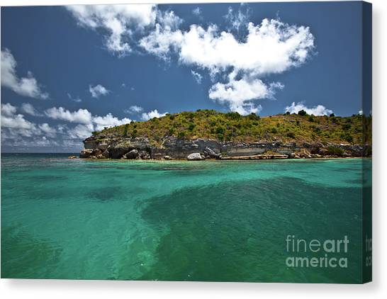 Sea And Clouds Canvas Print