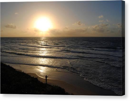 Sunset At Jaffa Beach 5 Canvas Print