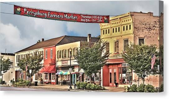 Downtown Perrysburg Canvas Print
