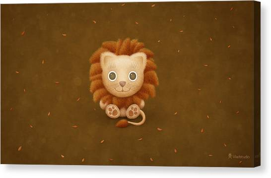 Old Age Canvas Print - Lion by Maye Loeser