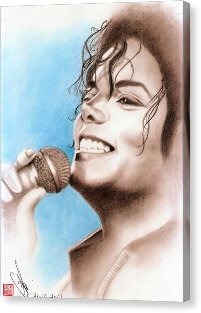 Michael Jackson #six Canvas Print