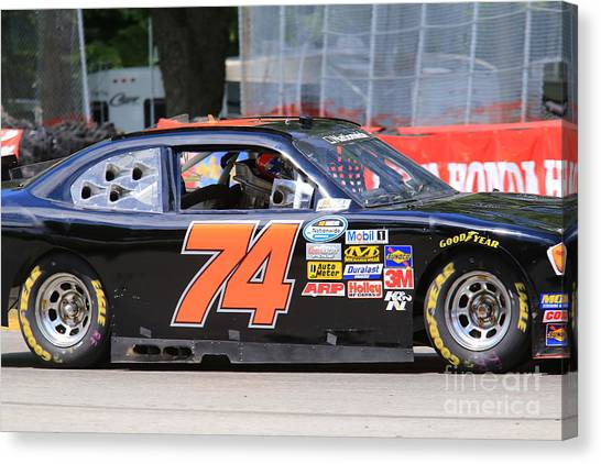 Richard Childress Canvas Print - Nascar by Douglas Sacha