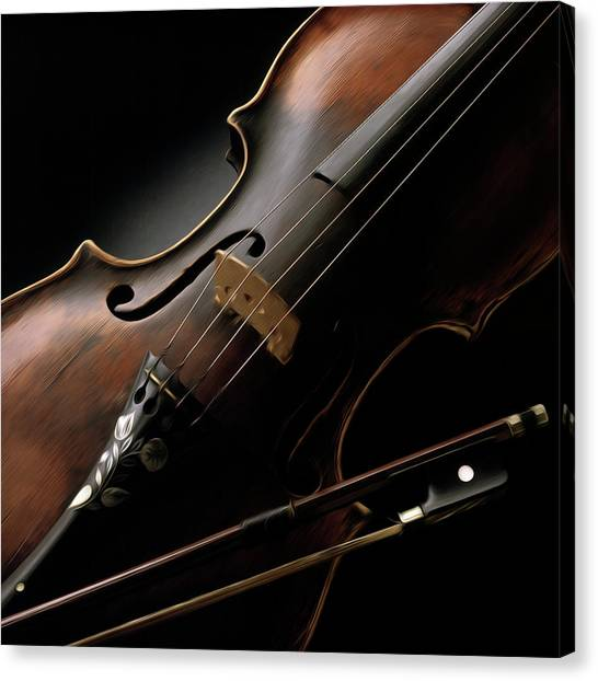 Violins Canvas Print - Still Life by Bob Nardi