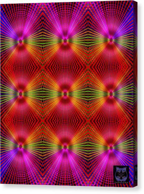 Canvas Print featuring the digital art #122720154 by Visual Artist Frank Bonilla