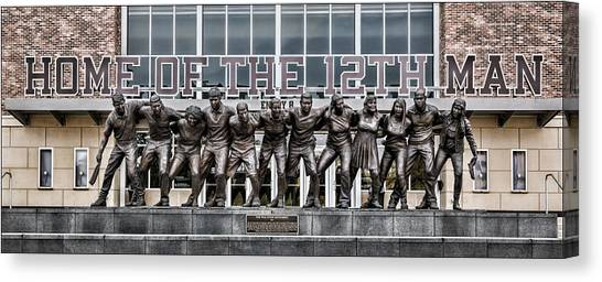Sec Canvas Print - 12th Man by Stephen Stookey