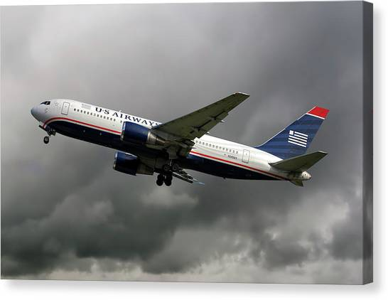Boeing Canvas Print - American Airlines Boeing 767-200 by Smart Aviation