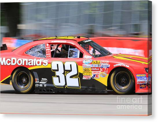 Richard Childress Canvas Print - Mcdonalds Racing by Douglas Sacha