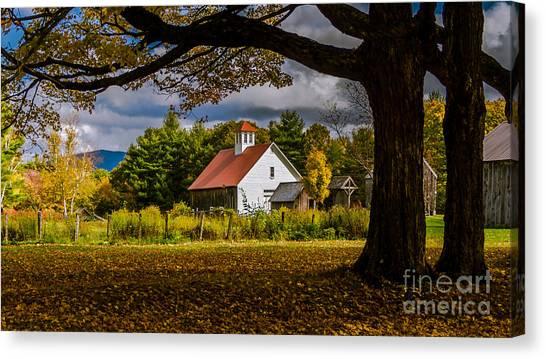 New England Photography 2016 Calendar.  Canvas Print