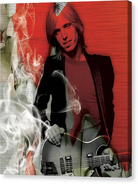 Tom Petty Canvas Print - Tom Petty Collection by Marvin Blaine