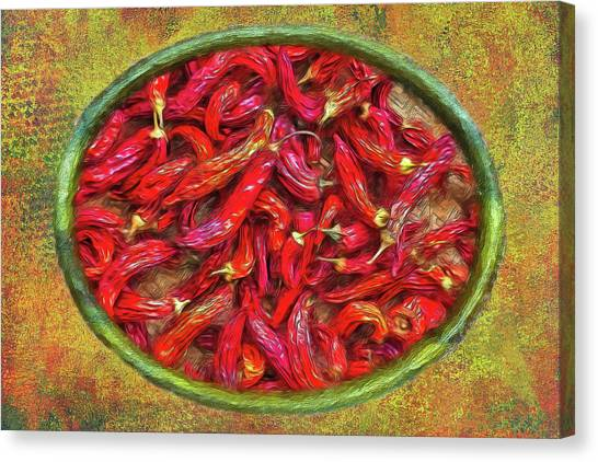 Red Hot Ready Canvas Print