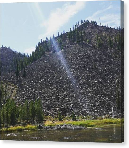 Rocky Mountains Canvas Print - Rocky Mountain Slope by Jonathan Stoops