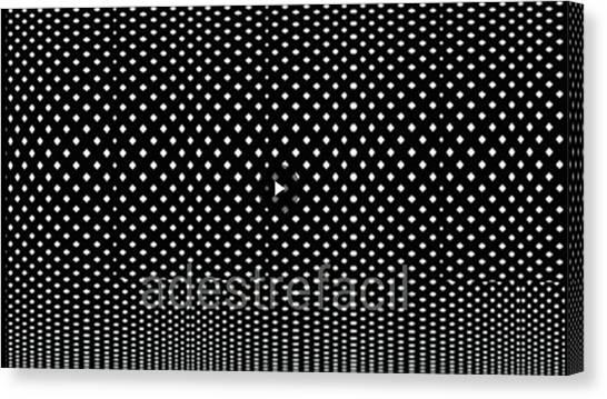 Pele Canvas Print - Multiple Points by Marlon Stefani