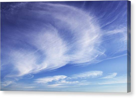 134 - Atmospheric - Cloud Cluster Canvas Print by Eric  Copeman