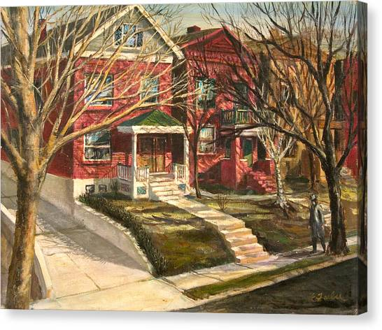 1385 Clara Avenue Canvas Print by Edward Farber