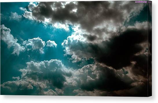 Satellite Canvas Print - Cloud by Jackie Russo