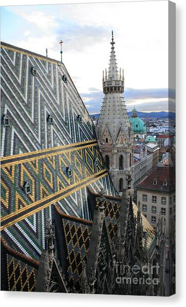 St Stephens Cathedral Vienna Canvas Print