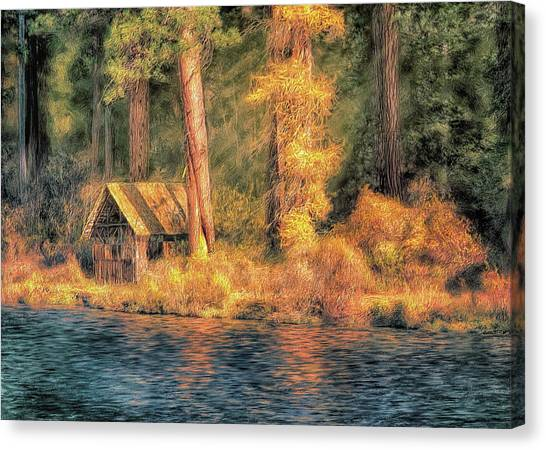 Metolius Autumn Canvas Print