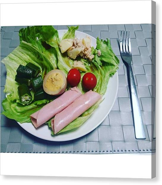 Salad Dressing Canvas Print - Instagram Photo by Rie Imamura