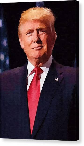 Canvas Print - Donald Trump by Donald Trump